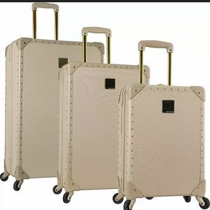 Vince Camuto Jania Latte 3pc Luggage Spinner Set